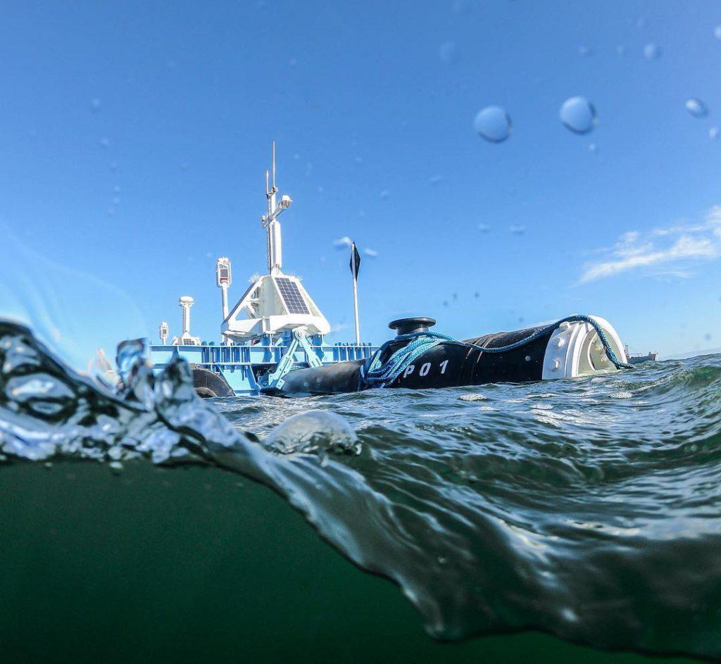 Ocean Clean testing